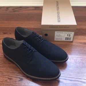 🆕 Wingtip Derby Men's Shoe - Reserved Footwear